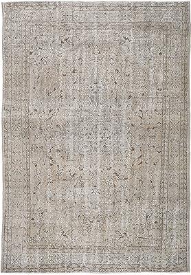 """RugVista Colored Vintage Rug 6'6"""" x9'8 (199x294 cm) Modern Carpet"""