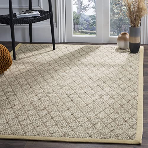 Safavieh Natural Fiber Collection NF460A Hand Woven Natural Jute Area 9 x 12