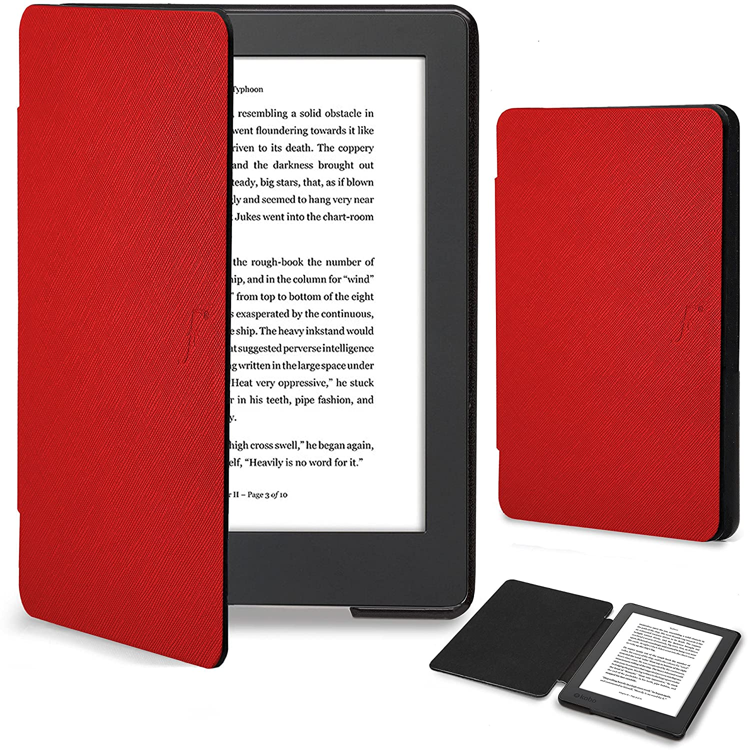 Forefront Cases® Kobo Aura H2O Edition 2 Funda Carcasa Stand Smart Case Cover: Amazon.es: Electrónica