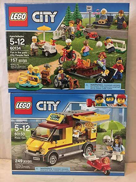 Amazon.com: LEGO City Town Fun in the park - City People Pack & LEGO ...
