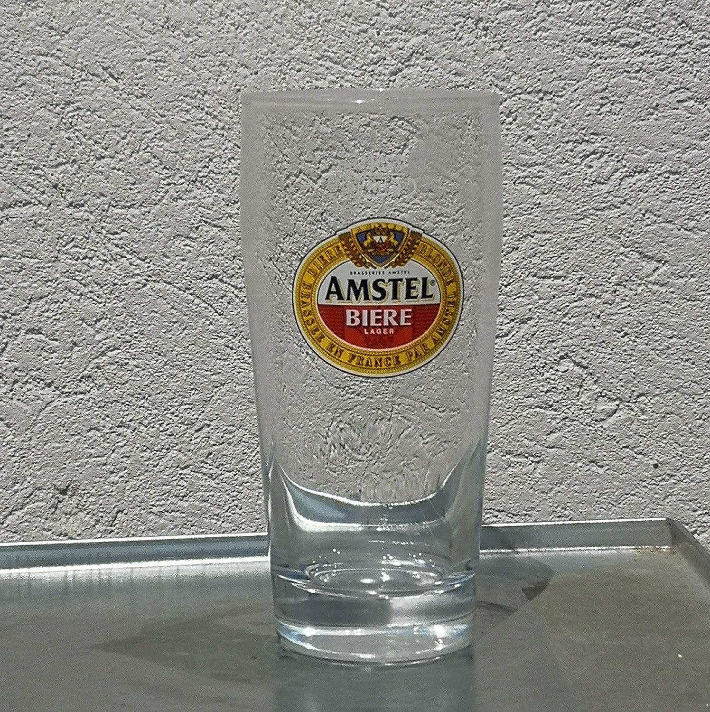 Amstel - Juego de 6 Vasos de Cerveza (25 cl)