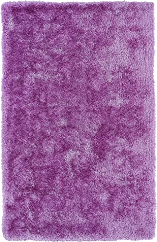 Kaleen Rugs Posh Collection PSH01-90 Lilac Handmade 9 x 12 Rug