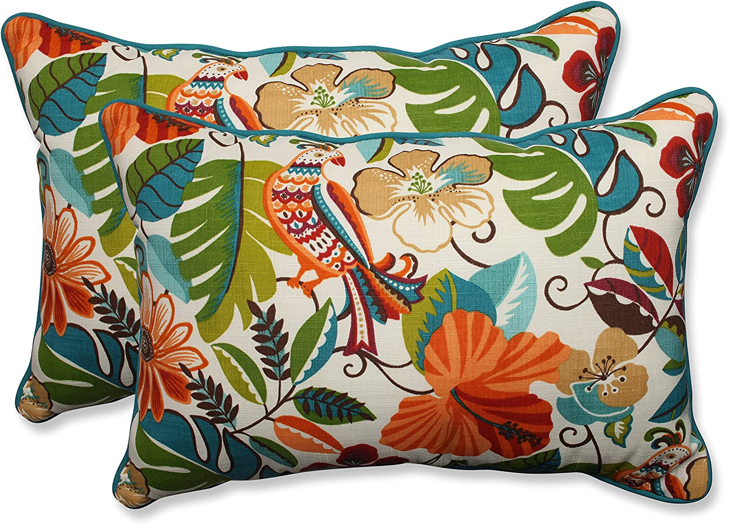 Pillow Perfect favorite Outdoor Indoor Lensing New Free Shipping Pi Oversized Jungle Lumbar