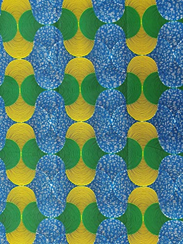 Tela impresa de algodón – Tamaño: paquete de 5,5 m de largo x 1,2 ...