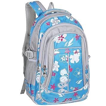 Amazon.com: mggear 16-Inch las niñas Floral impresión ...