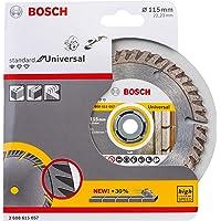 Bosch Professional Diamantdoorslijpschijf Standard for Universal (beton en metselwerk, 115 x 22,23 mm, accessoire haakse…
