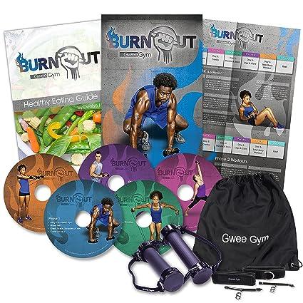 Mejores Bandas de resistencia ejercicio Kit – gwee gimnasio entrenamiento total Kit | Ultimate Crosstrainer para