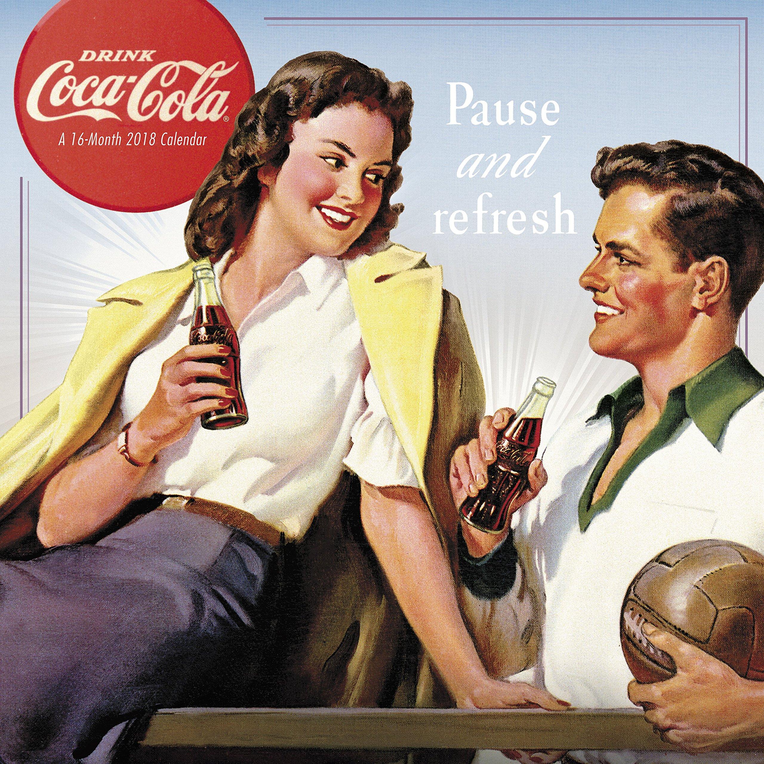 2018 Coca-Cola Wall Calendar (Mead)