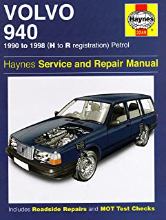 volvo 940 haynes publishing 9780857336514 amazon com books rh amazon com Toyota Tercel Manual Volvo 960 Tuning Car