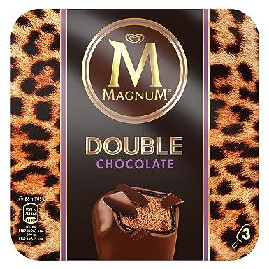 Magnum Double Chocolate - Paquete de 3 x 88 ml