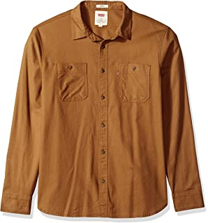 Levis Mens Morphe Long Sleeve Stretch Twill Shirt