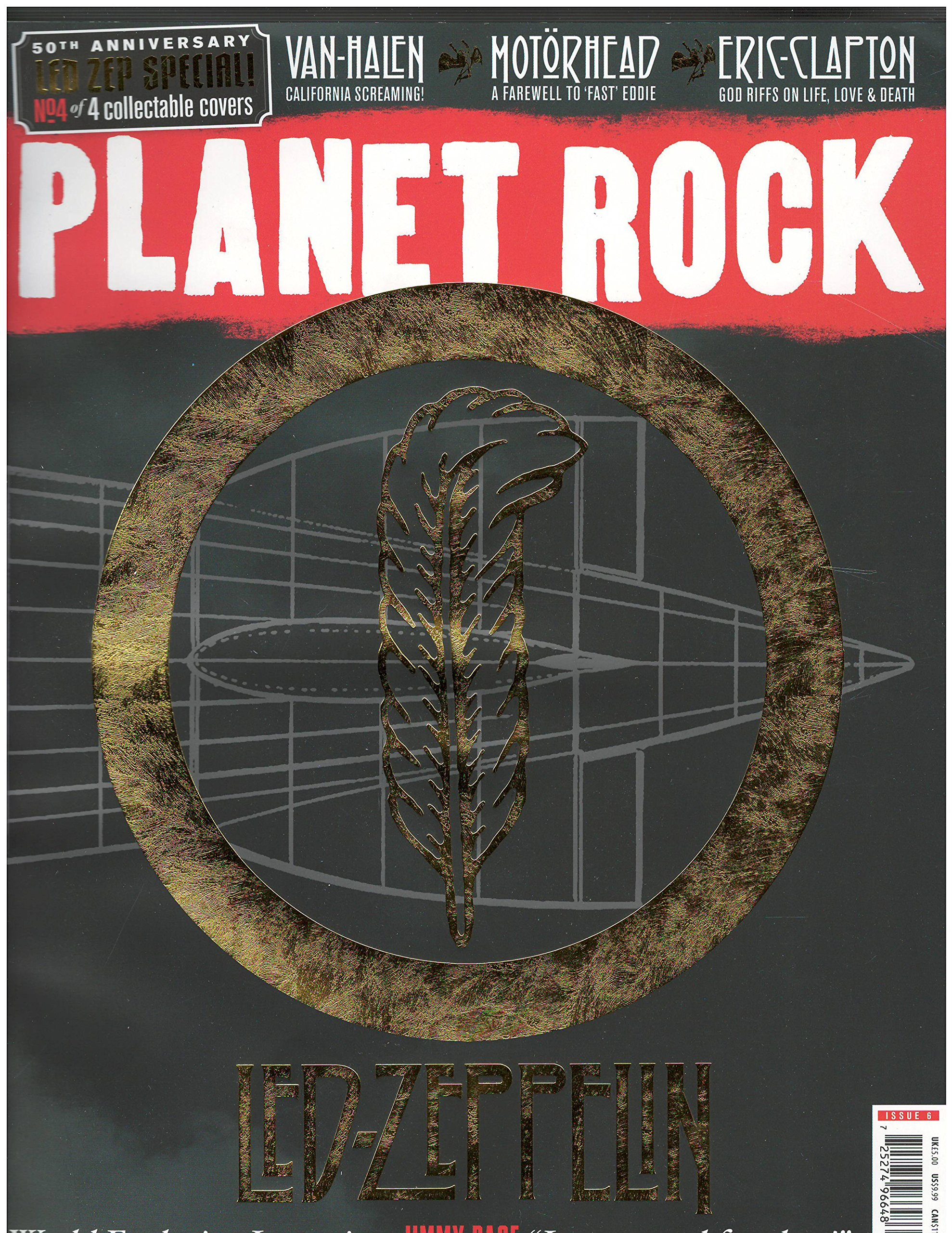 Read Online Planet Rock Magazine Issue 6 Cover 4 of 4 Led-Zeppelin Cover PDF