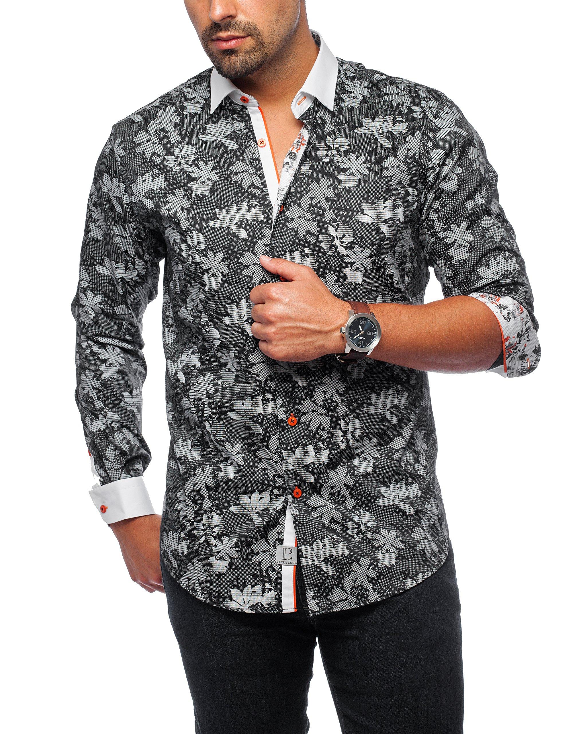 Peter Louis Jet Set Shirt (XLarge, Black) by Peter Louis