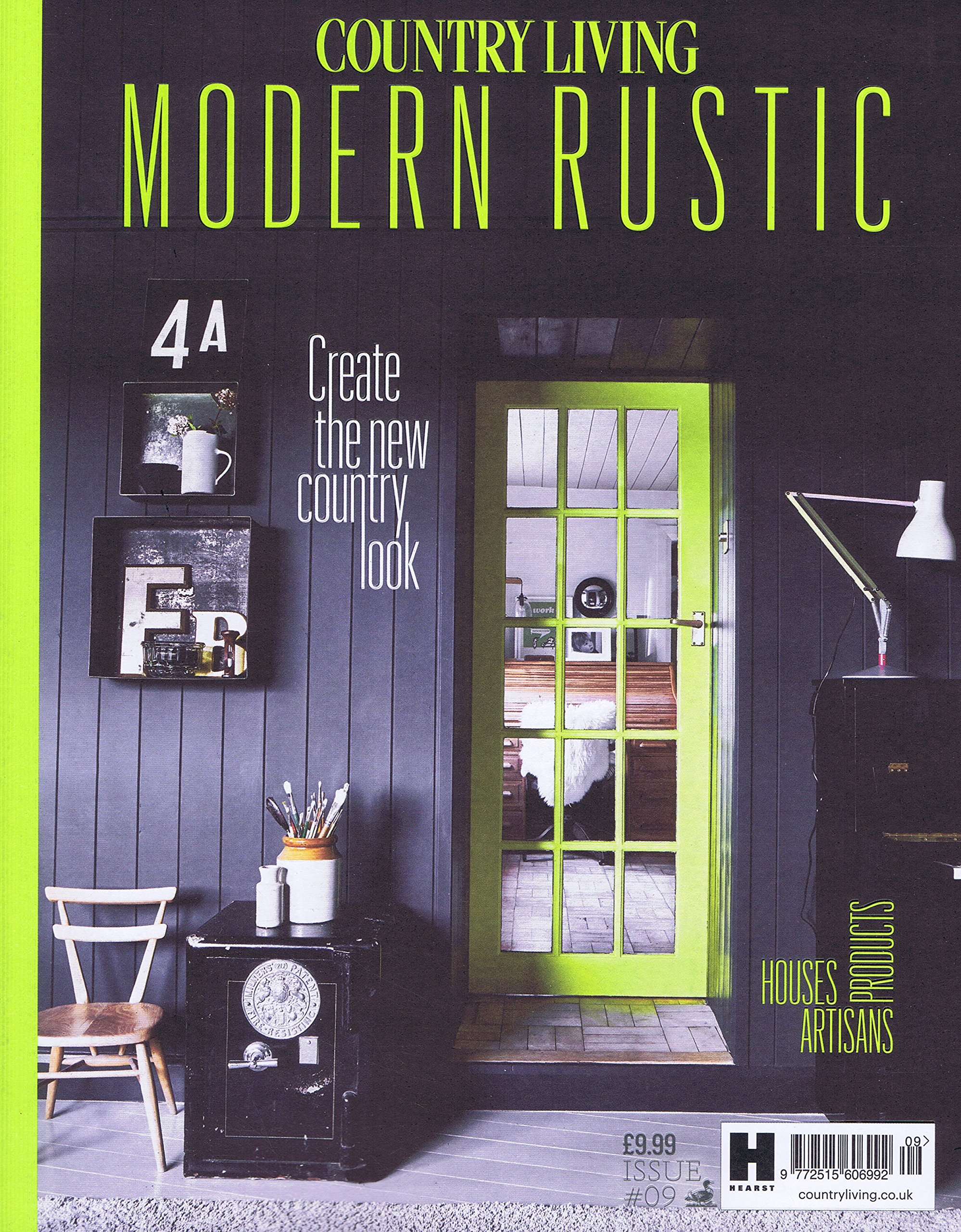 amazon country living modern rustic uk no 9 2017 単号