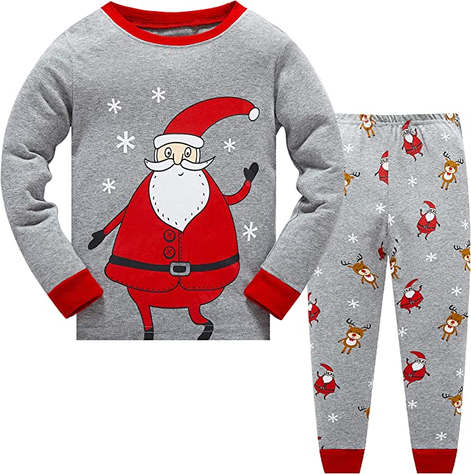 Metzuyan Boys /& Girls Santa Hooded Christmas Dressing Gown