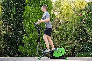 ECO-DE Bicicleta Elíptica Top Magnet Bike con regulación de Intensidad, Control Cardiovascular,