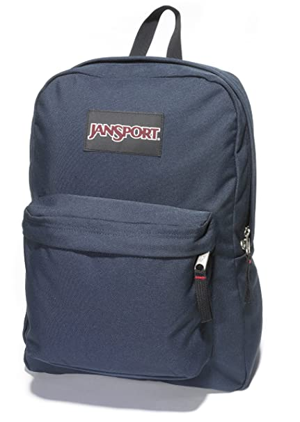 99c8b6e0585 Image Unavailable. Image not available for. Color  JanSport Superbreak  Classic Backpack Deep Navy