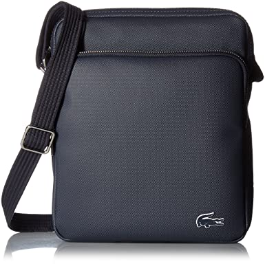 Lacoste mens Crossover Bag With Pockets Messenger Bags - black -   Amazon.co.uk  Clothing 3819ea075314b