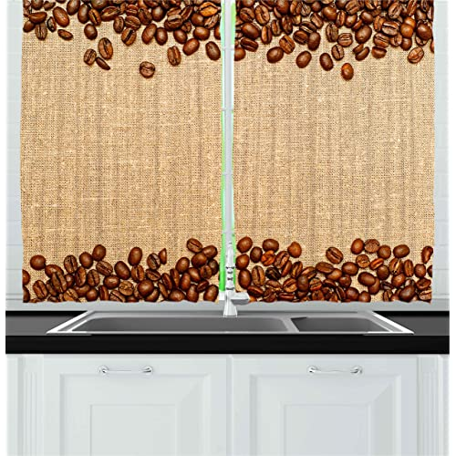 Coffee Curtains Coffee Drinker
