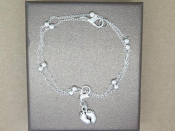 Bracelet Petits Pieds Idée Cadeau Future Maman Annonce