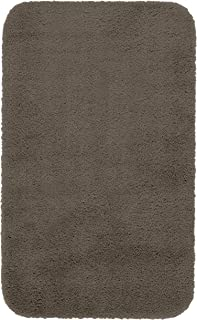 "product image for Maples Rugs Cloud Bath 23.5"" X 39"" Washable Non Slip Bath Mat [Made in USA] for Kitchen, Shower, and Bathroom, Mocha Latte"