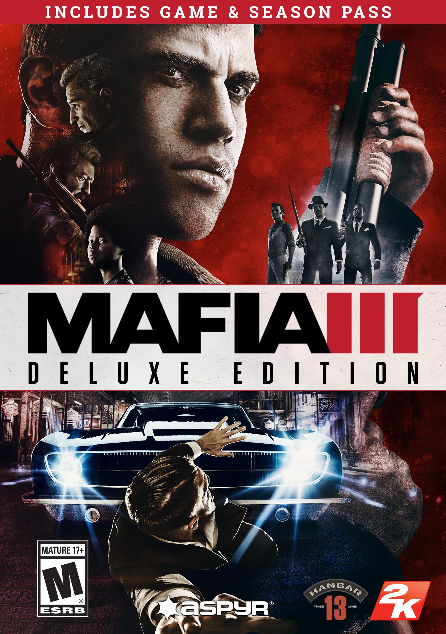 Mafia III Digital Deluxe (Mac) [Online Game Code] by Aspyr Media