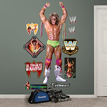 Fathead Wall Decal, Real Big, WWE Ultimate Warrior