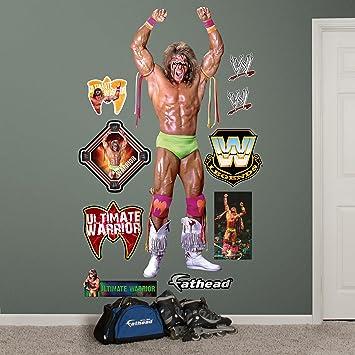 Superior Fathead Wall Decal, Real Big, U0026quot;WWE Ultimate Warrioru0026quot; Part 15