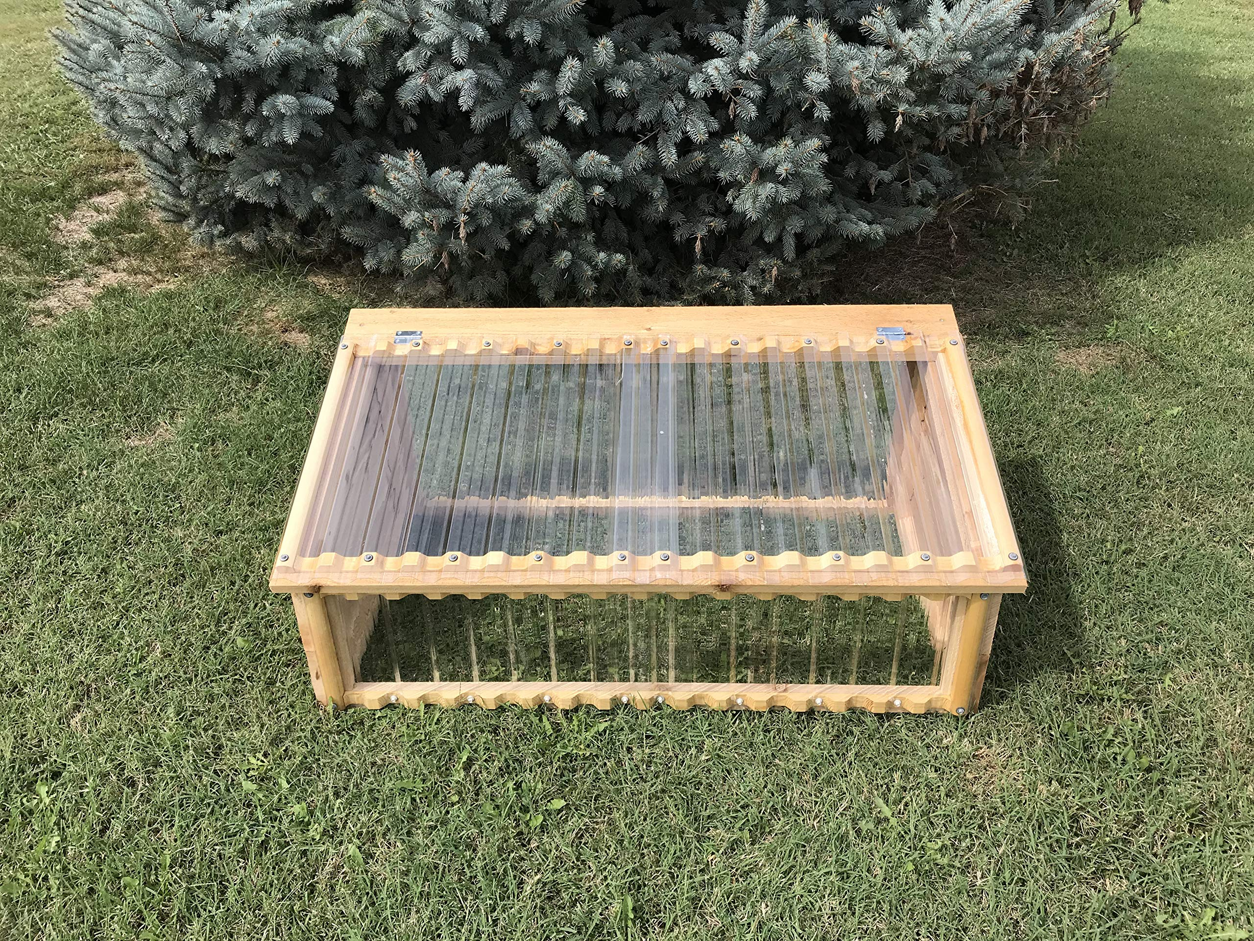 Heavy-Duty Cold Frame - Made in Missouri - Easy Assembly Instructions Included.