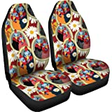 Gnarly Tees Couple Ol Chickens Car Seat Covers