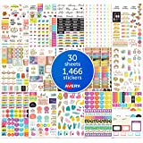 AVERY Student Planner Stickers Pack, 1,466 Stickers, School and College Planner Sticker Sheets (6784)