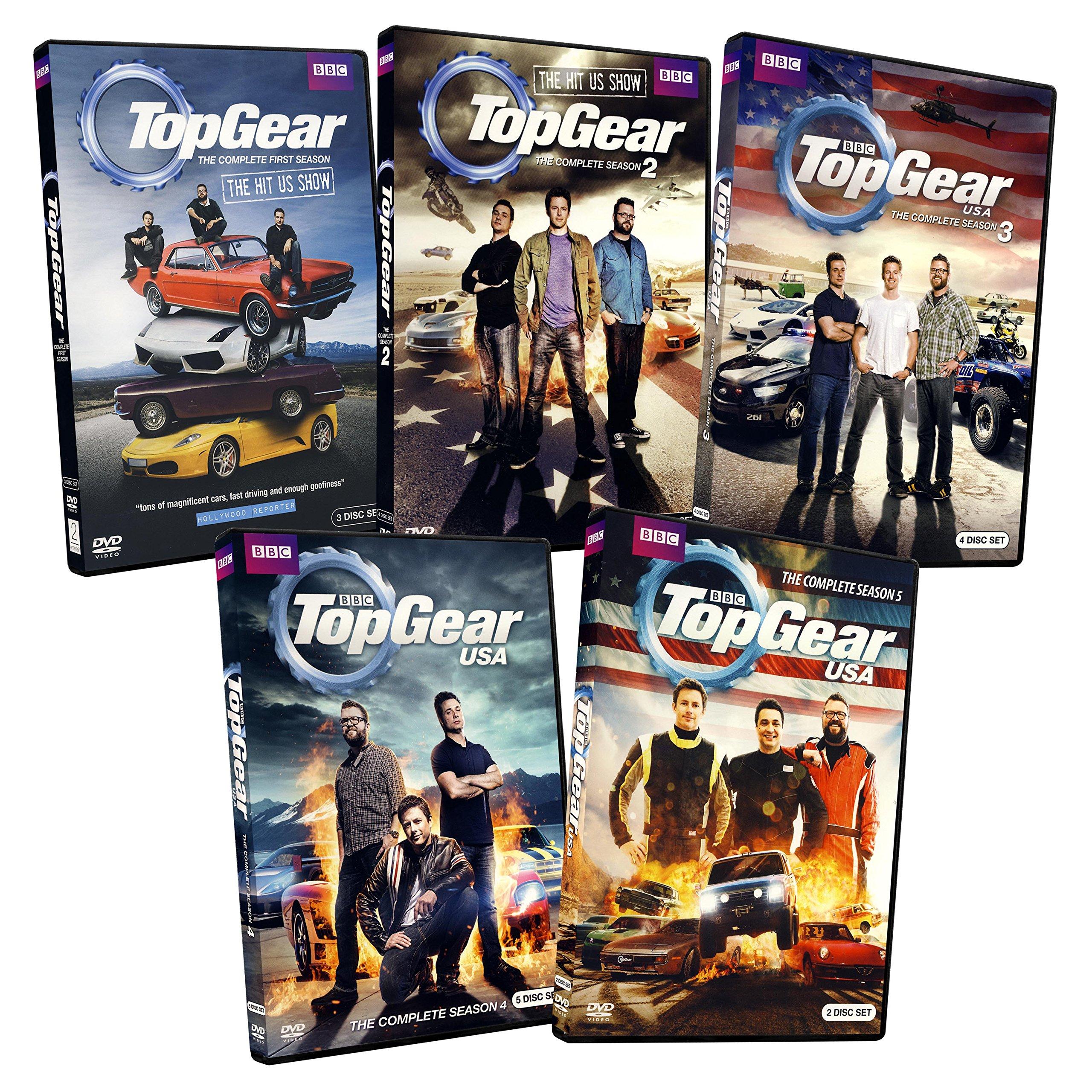 Top Gear USA: The Complete Season 1 - 5