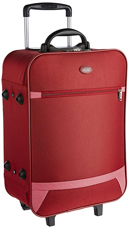 Alfalite Volcano Teflon 52 cms Red Hardsided Suitcase (STVOL55RED)