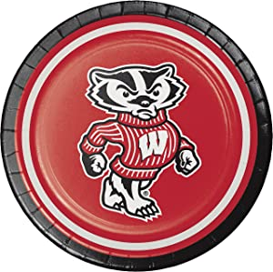 University of Wisconsin Dessert Plates, 24 ct