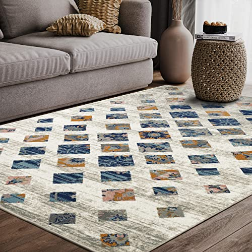 "Southwestern Tribal Print 7' 9"" x 10' 2"" Rectangular Area Rug"