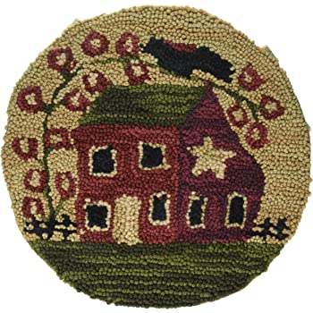 Merveilleux Park Designs Red House Hooked Chair Pad (375 58)