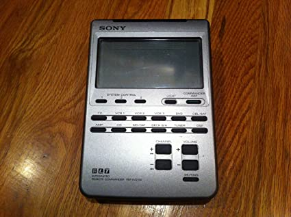 amazon com sony rm av2100 lcd universal integrated remote commander rh amazon com Sony Products and Accessories Sony Remote