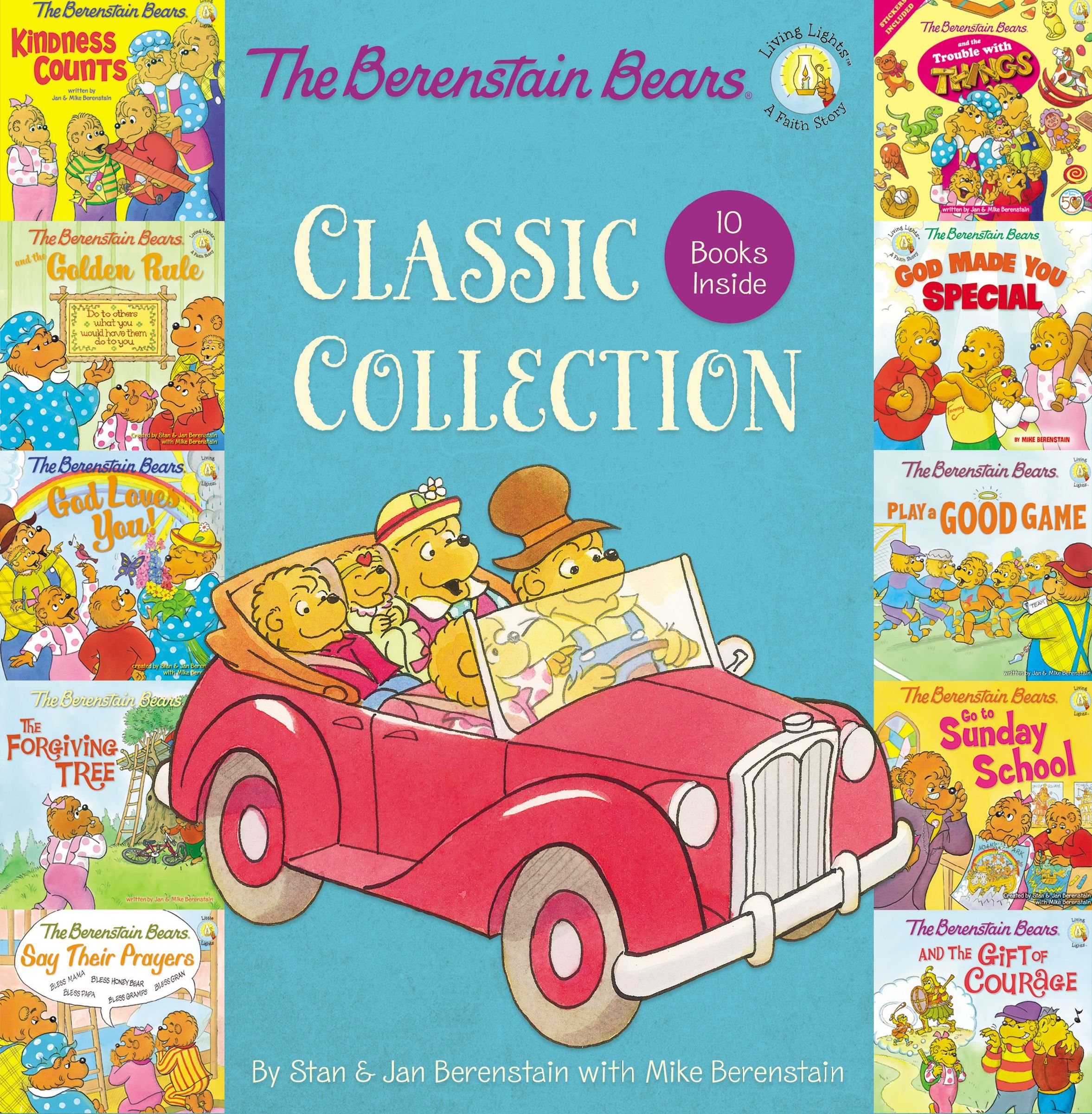 The Berenstain Bears Classic Collection (Box Set) (Berenstain Bears/Living Lights)