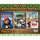 Best of Hollywood Kids Movies Pack 37 (Legendary Asterix To The Most Lovable Shaun The Sheep With Cute Bear, All In One Pack. Perfect For The Kids And The Adults.)