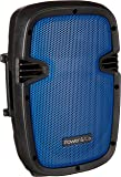 "Power & Co XP-8000BL Bocina Portátil, 2,500W, Bluetooth, SD, USB, 8"", color Azul"
