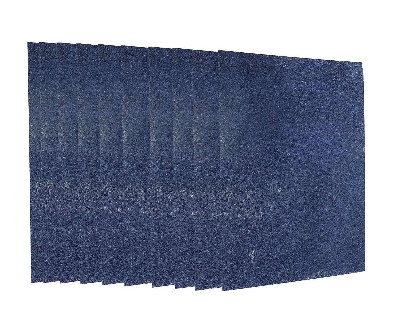 ユニバーサルエアクリーナーカーボン交換用pre-filtersと互換性Honeywell hpa09 X hpa10 Xシリーズ10パック B01AEN1EV6