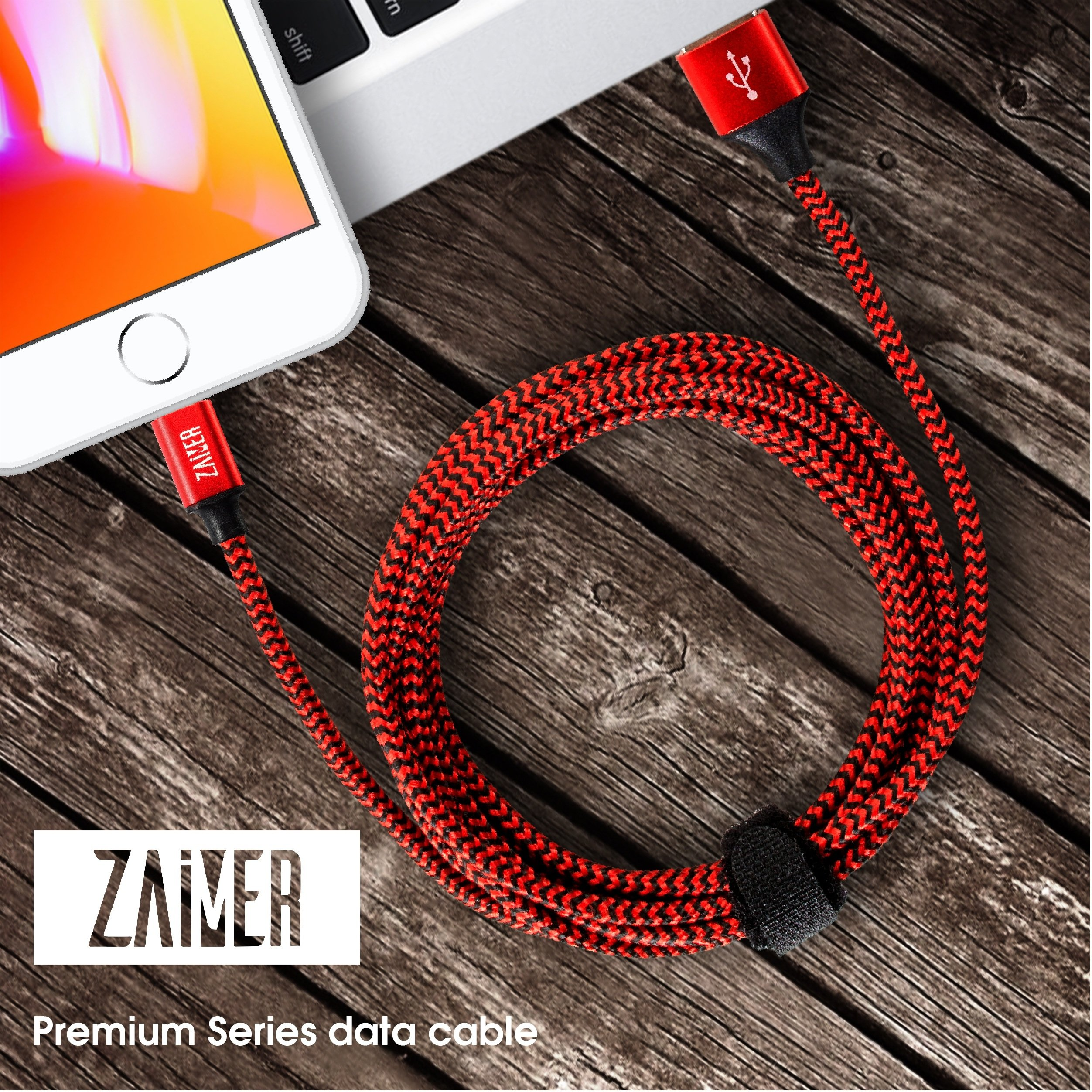 iPhone Charger Cable - Lightning Cable - 4Pack - 3FT 3FT 6FT 6FT -iPhone power cord pack for X 8 8 Plus 7 7 Plus 6 6S 6 Plus 5S SE iPad iPod by ZAiMER (Image #8)