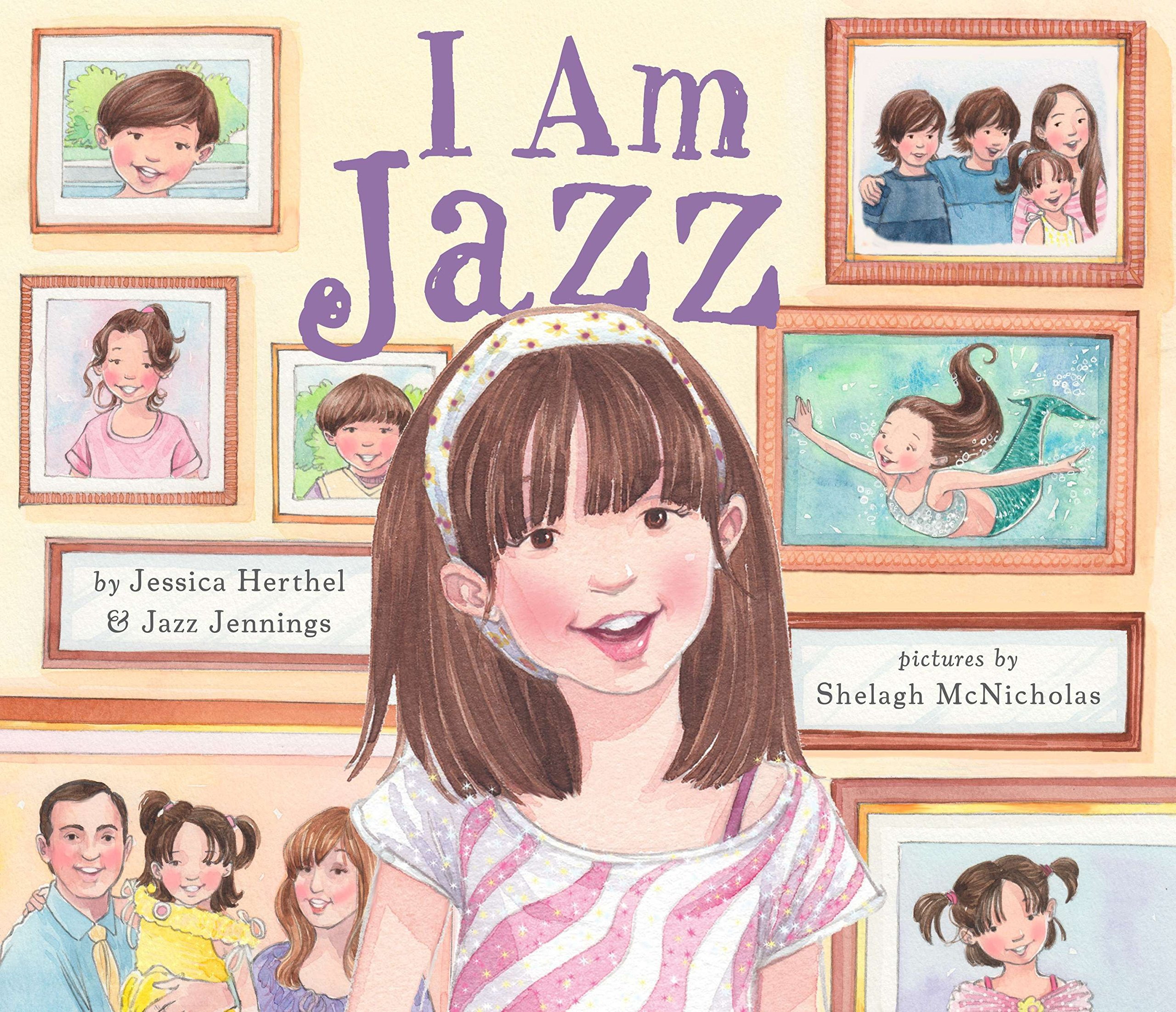 Image result for i am jazz picture book