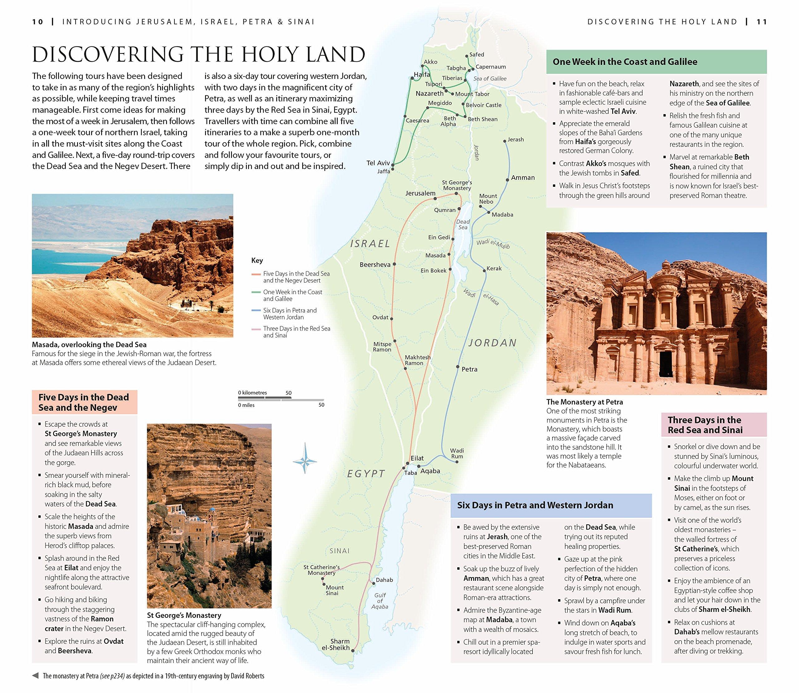 DK Eyewitness Travel Guide: Jerusalem, Israel, Petra & Sinai: DK ...