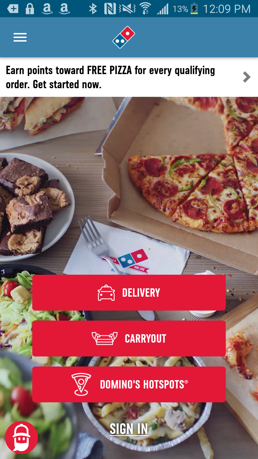 Amazon Com Domino S Pizza Usa Appstore For Android
