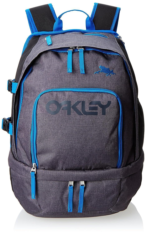 oakley jupiter backpack - black/blue