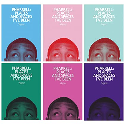 pharrell places and spaces ive been hardcover amazon