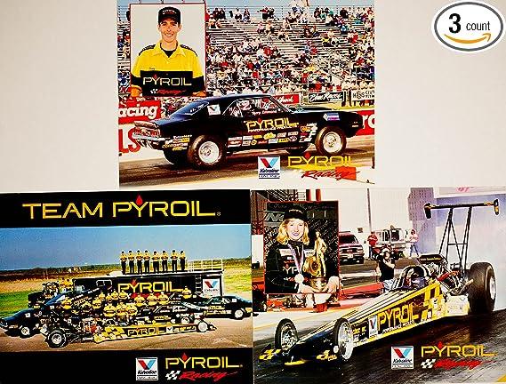 Amazon.com: 1993 – NHRA – pyroil Racing – 3 Tarjetas De Hero ...