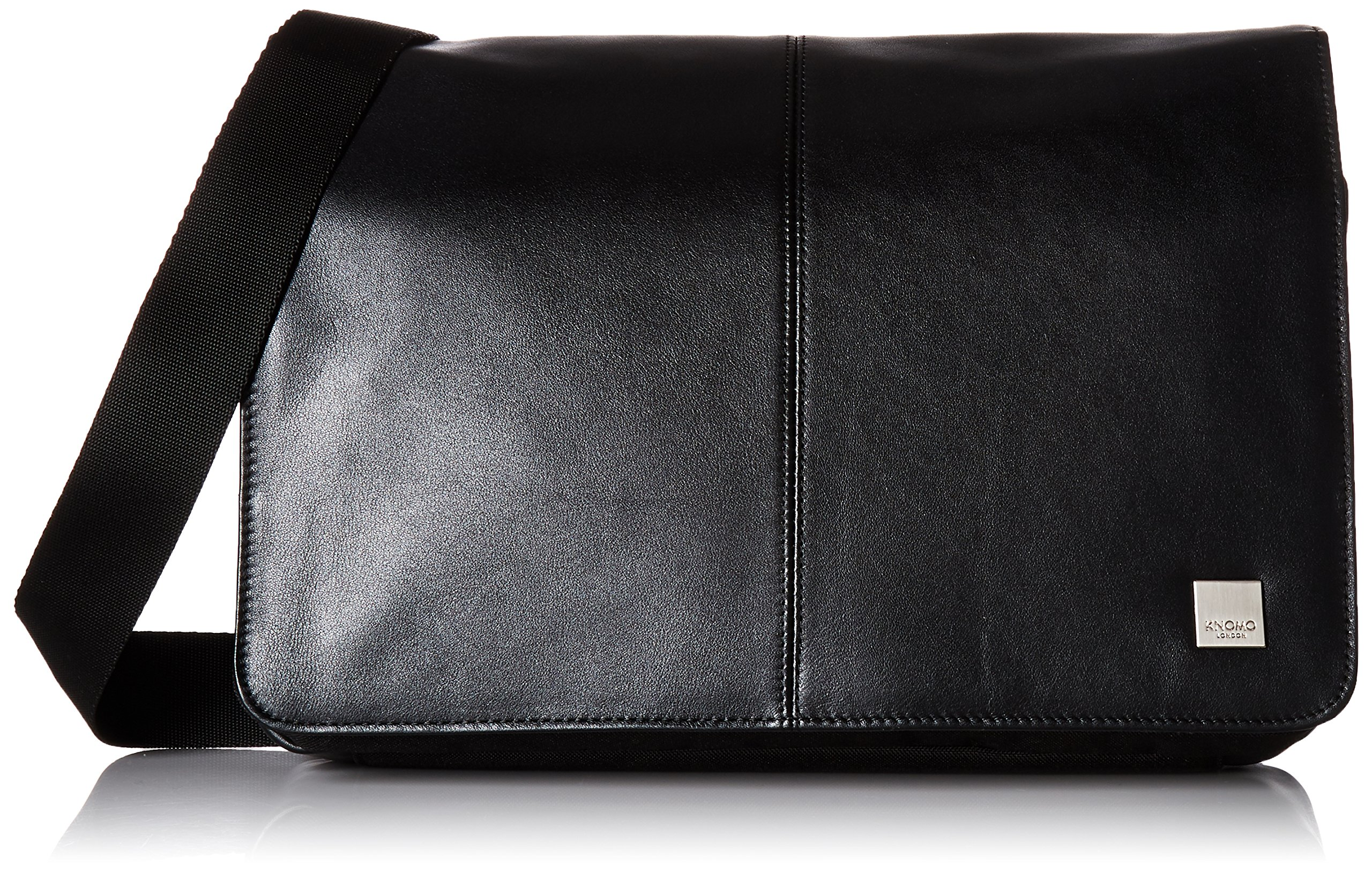 Knomo Luggage Men's Kinsale Laptop Messenger Bag, Black, One Size
