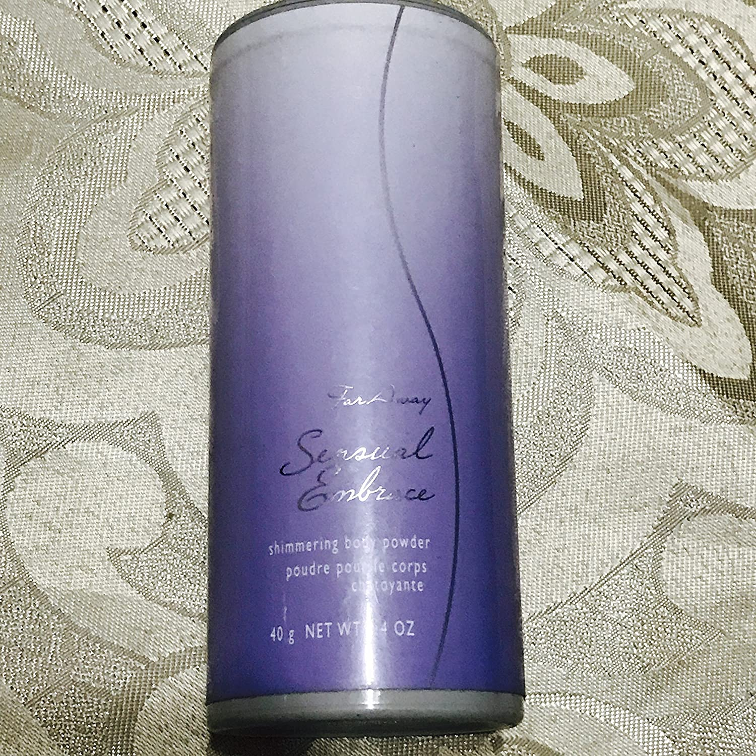 Avon Far Away Sensual Embrace Shimmering Body Powder